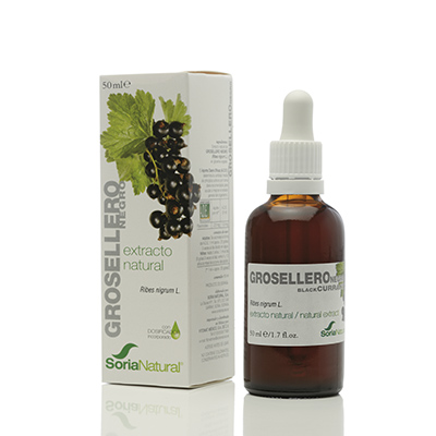 Extracto Grosellero Negro - Soria Natural - 50 ml.