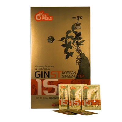 Il Hwa - Ginst 15 Tea - Tongil - 100 sobres (Pack 3 unidades)