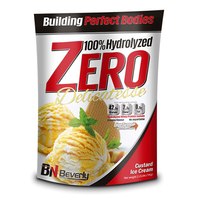 100% Hydrolyzed Zero Delicatesse - Strawberry White Chocolate  - Beverly - 1 kg.