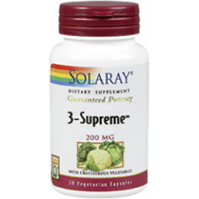 3 Supreme 200 mg. - Solaray - 30 cápsulas
