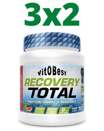 Pack 3x2 Recovery Total Vainilla - Vitobest - 700 gramos