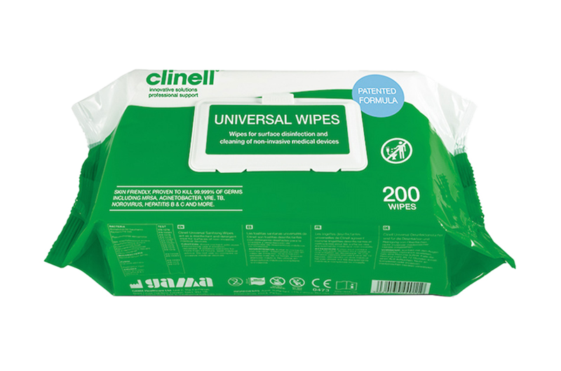Clinell Universal Toallitas 200uds