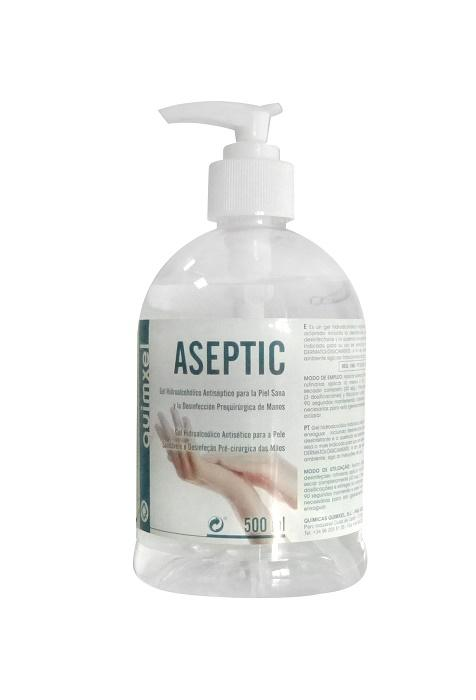 Quimxel Gel Hidroalcoholico Aseptic 500ml (ndr)