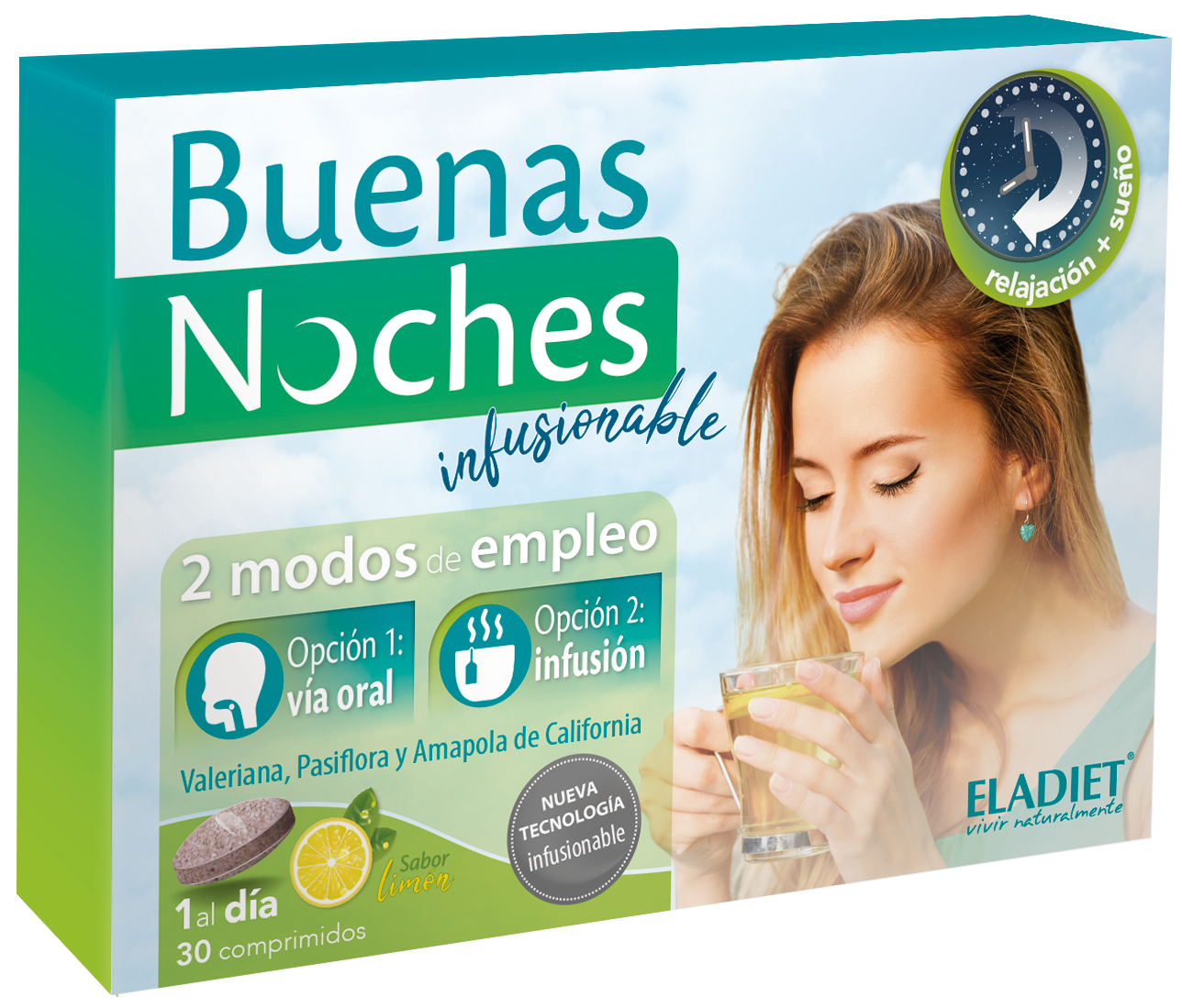 Buenas Noches Infusionable 30 Comp