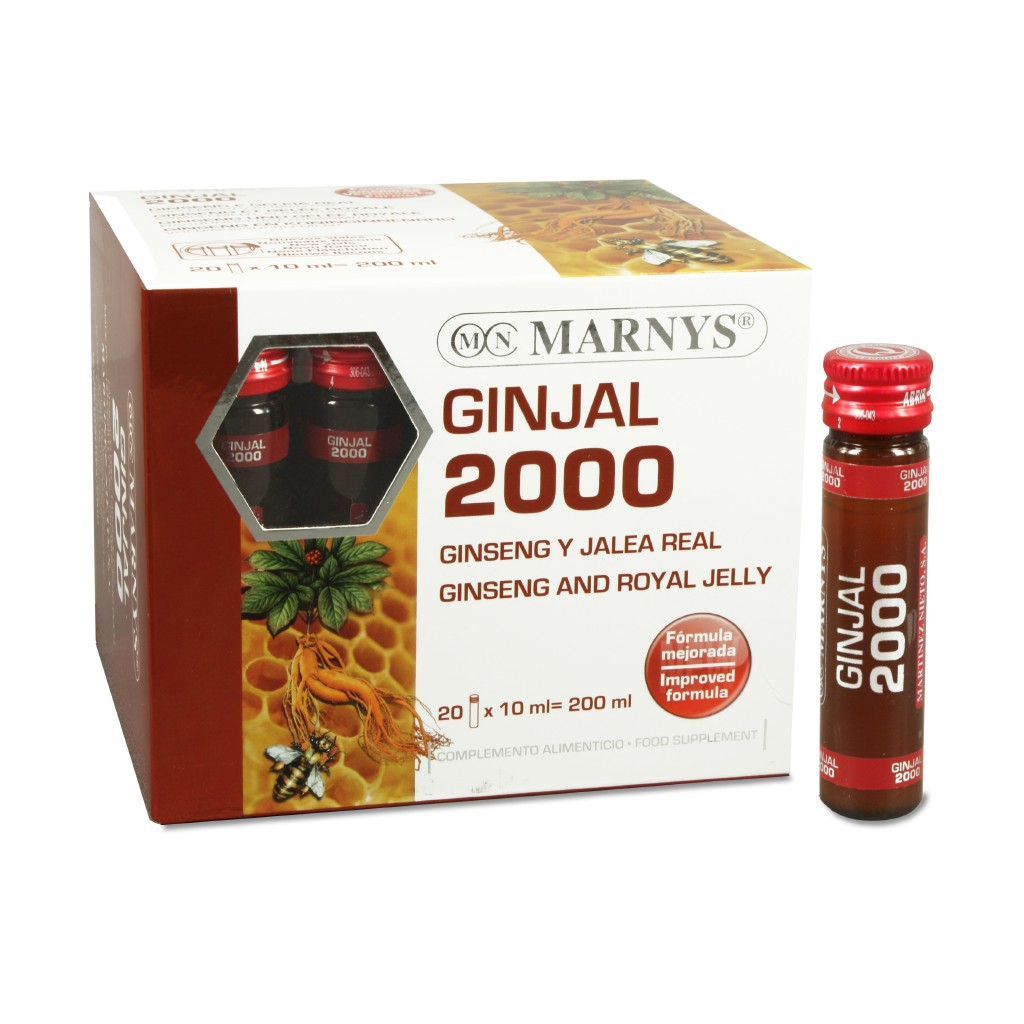 Ginjal 2000 Mg X 20 Viales