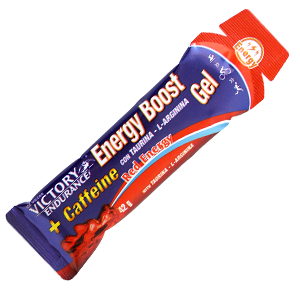 ENERGY BOOST GEL + CAFEINA RED ENERGY  42 G