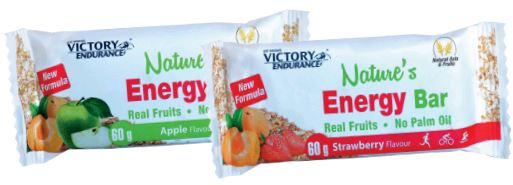 NATURES ENERGY BAR  MANZANA 60 G