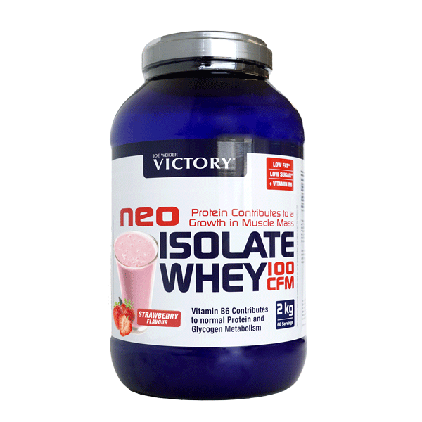 NEO ISOLATE WHEY 100 CFM FRESA 2,2 KG