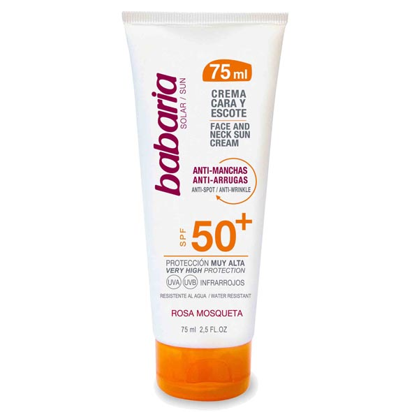 BABARIA SOL.FACIAL ANTIMANCHAS R.MOSQ. FP50 75ML