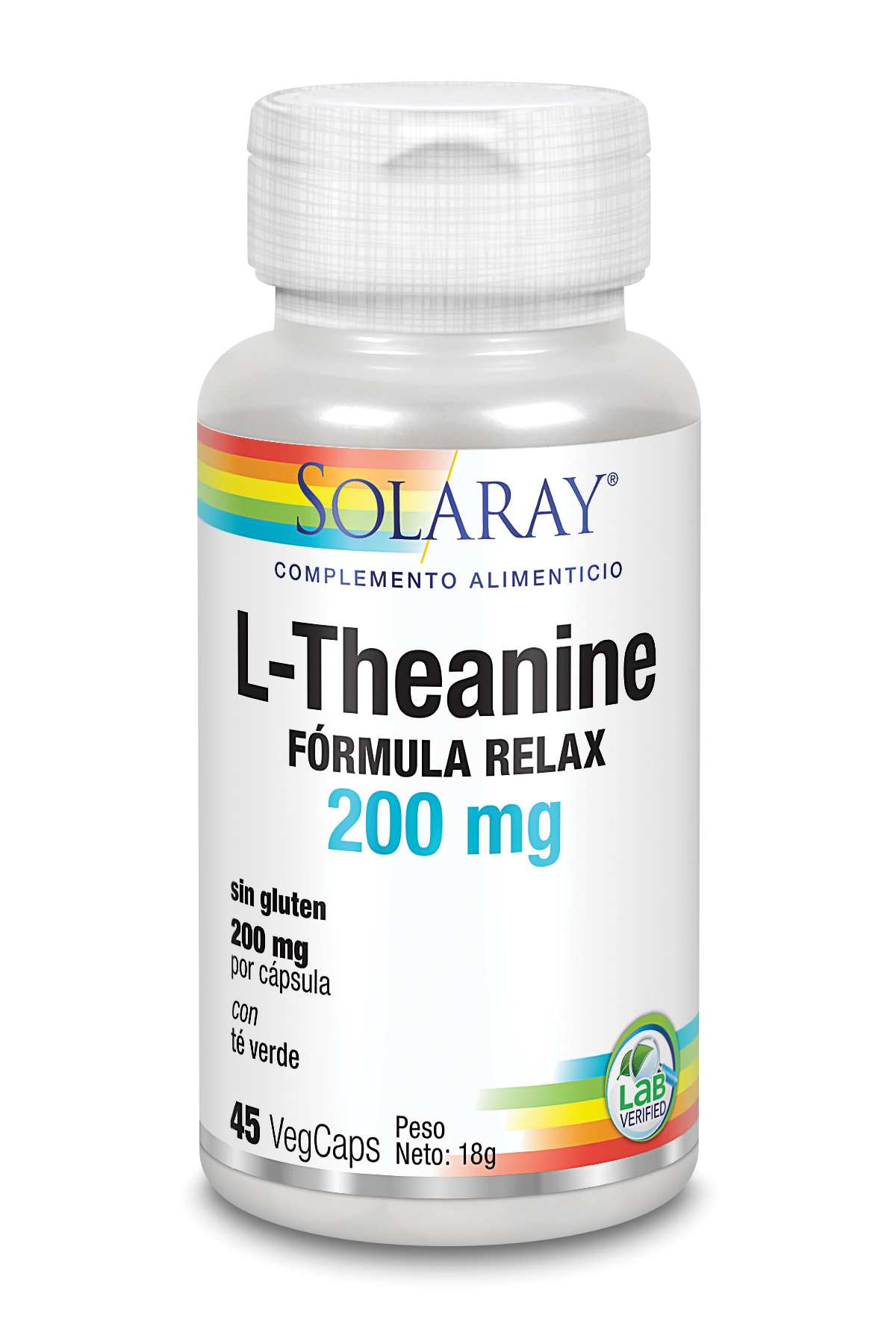 L THEANINE 200 mg 45 Vcaps