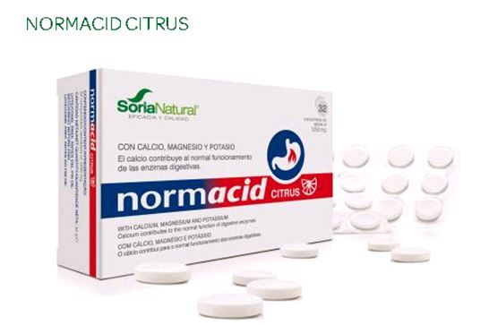 NORMACID CITRUS 32 Comp x 1250 mg