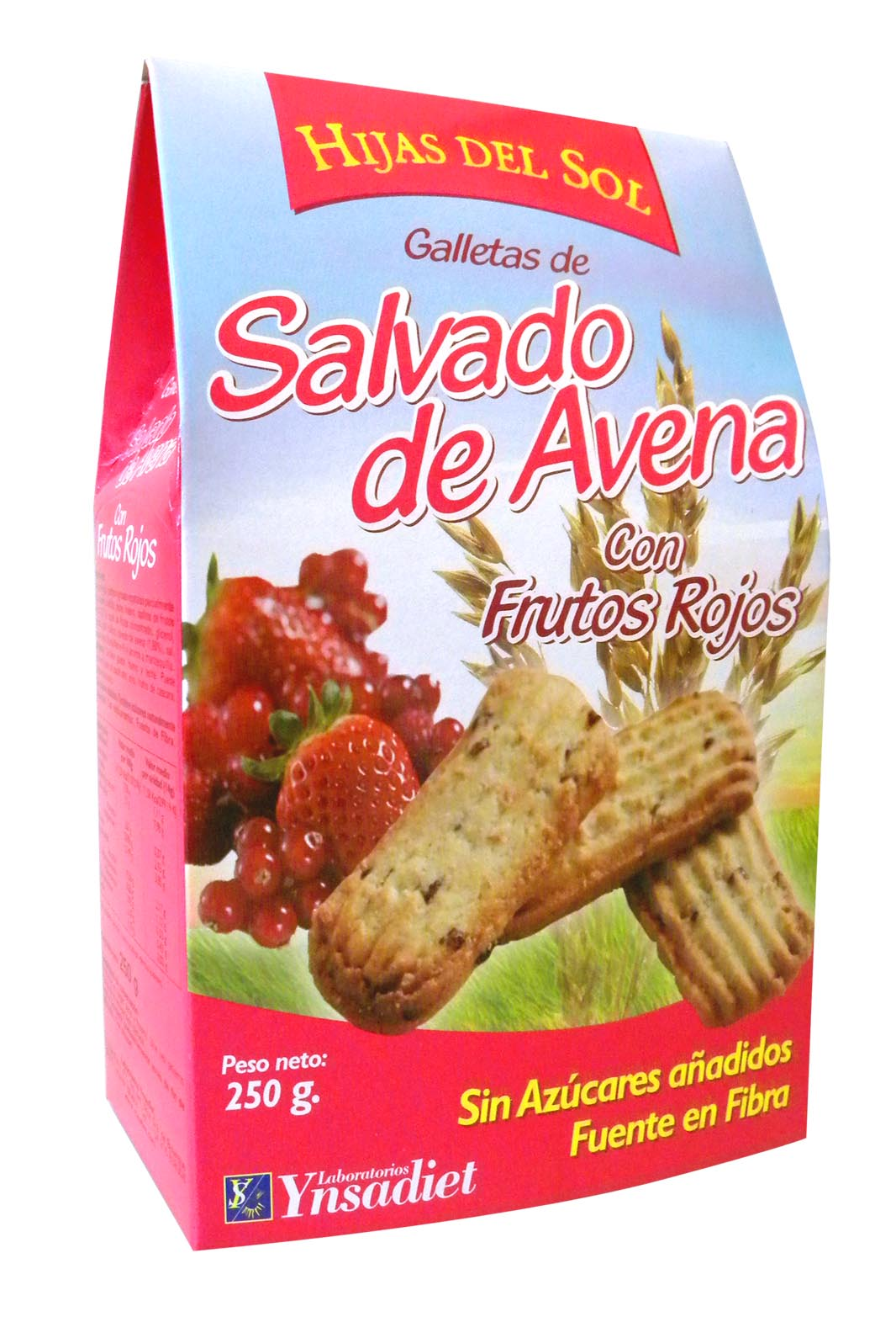 GALLETA AVENA + FRUTOS ROJOS  250 gr