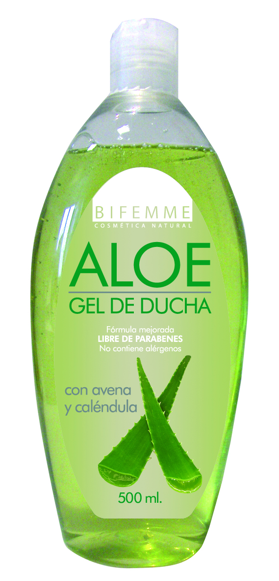 GEL DUCHA ALOE 500 ml