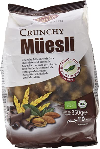 MUESLI WITH CHOCOLATE FUCHS BIO 350 gr