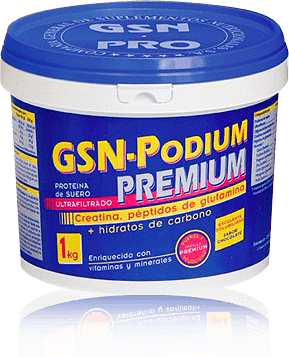 GSN PODIUM  PREMIUM 1000 Grs CHOCOLATE