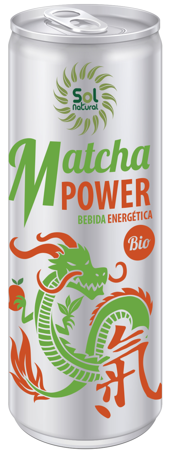BEBIDA ENERGETICA MATCHA POWER BIO 250 ml