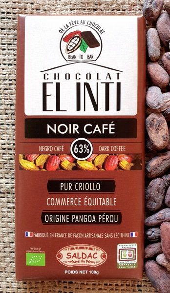 Chocolate 63% Con Cafe 100 Gr