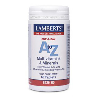 A-Z Multi - Lamberts - 60 comprimidos (Pack 3 unidades)