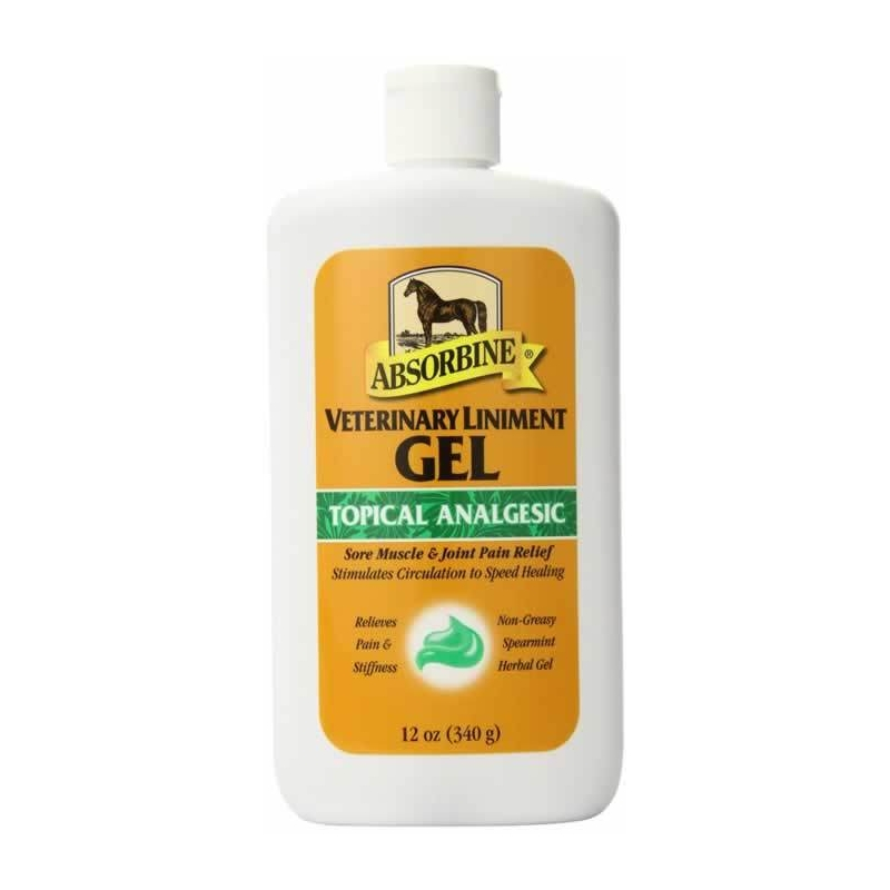 Absorbine Veterinary Liniment Gel - VetNova - 355 ml - Gel