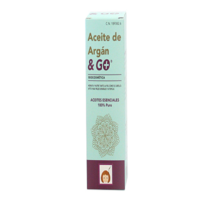Aceite de Argan & Go - Pharma & Go - 30 ml.