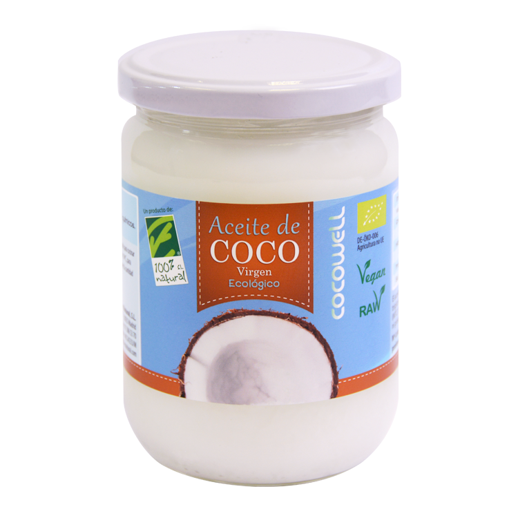 Aceite de Coco Bio - 100% Natural - 500 ml.