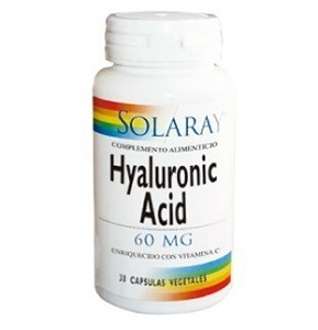 Acido Hialurónico 60 mg. - Solaray - 30 cap.