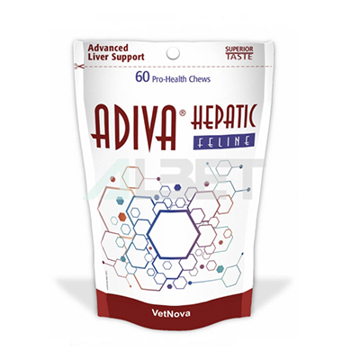 Adiva Hepatic Feline - VetNova - 60 Chews