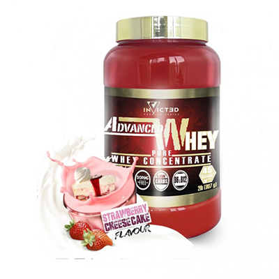 Advanced Whey Strawberry Cheesecake - NutriSport - 2200 gramos