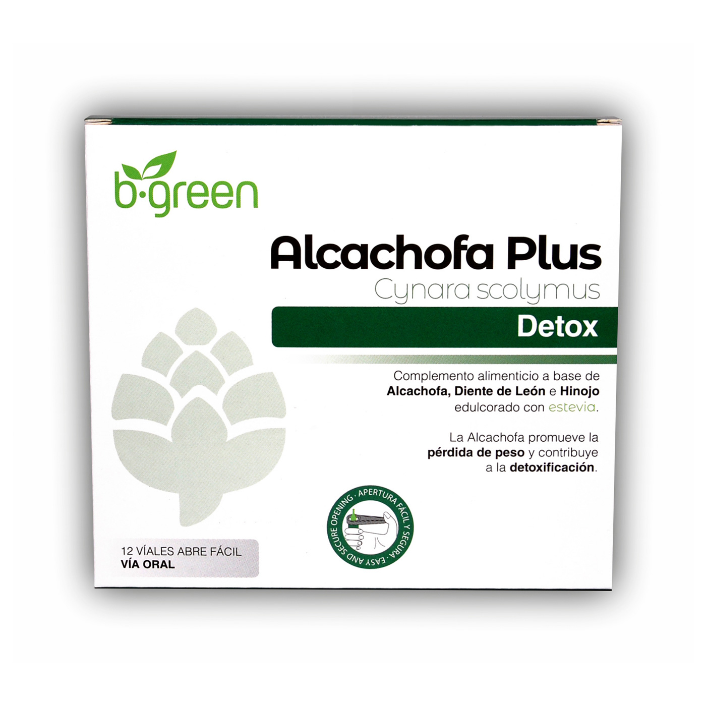 Alcachofa Plus - B'Green - 50 unicadose
