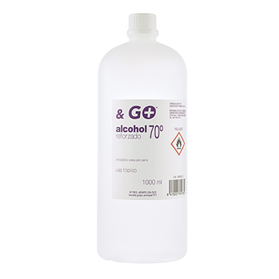 Alcohol 70º & Go - Pharma & Go - 1000 ml.