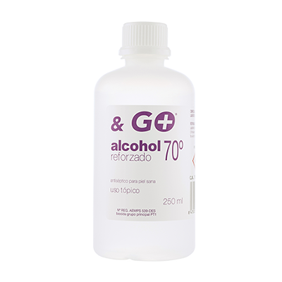 Alcohol 70º & Go - Pharma & Go - 250 ml.