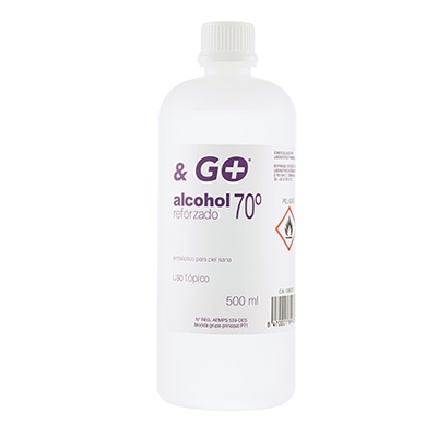 Alcohol 70º & Go - Pharma & Go - 500 ml.