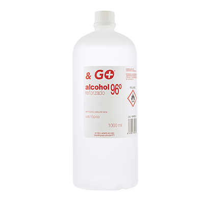 Alcohol 96º & Go - Pharma & Go - 1000 ml.