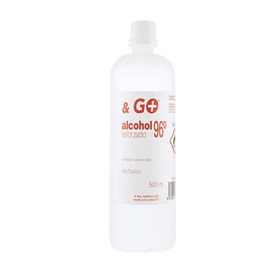 Alcohol 96º & Go - Pharma & Go - 500 ml.