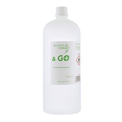 Alcohol Romero & Go - Pharma & Go - 1000 ml.