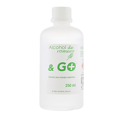 Alcohol Romero & Go - Pharma & Go - 250 ml.