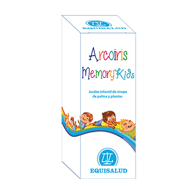 Arcoiris Memory Kids - Equisalud - 250 ml.