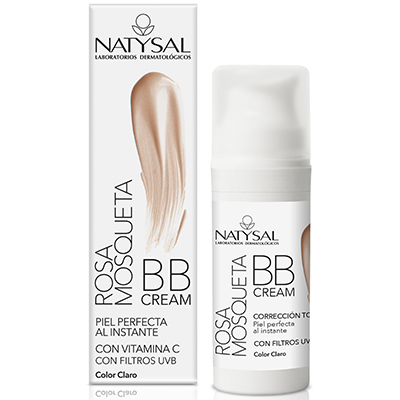 Bb Cream Rosa Mosqueta Fps 20 - Natysal - 30 ml.