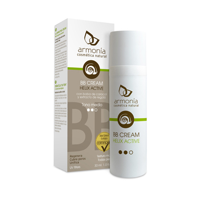 BB Cream Tono medio Helix Active - Armonía - 30 ml
