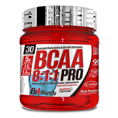 BCAA 8:1:1 Pro - Tropical - Beverly - 300 gramos