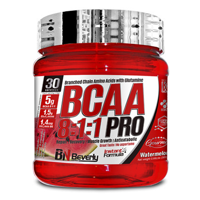 BCAA 8:1:1 Pro - Watermelon - Beverly - 300 gramos