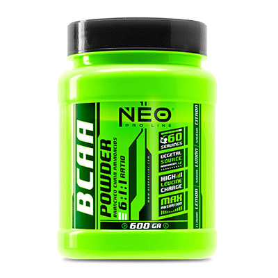 BCAA Powder 6:1:1 Limon - NEO Proline - 600 gramos