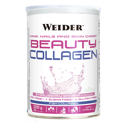 Beauty Collagen Banana - Weider - 300 g.