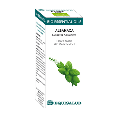 Bio Essential Oil Albahaca - Equisalud - 10 ml.