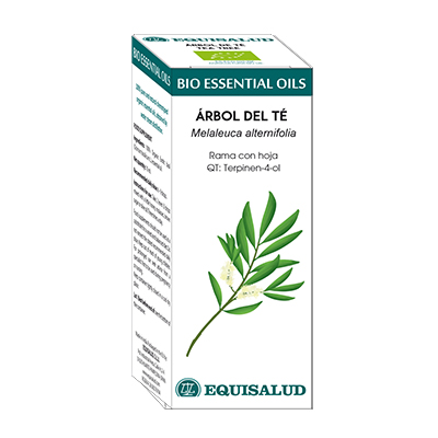 Bio Essential Oil Arbol De Té - Equisalud - 10 ml.
