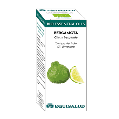 Bio Essential Oil Bergamota - Equisalud - 10 ml.