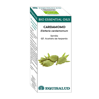 Bio Essential Oil Cardamomo - Equisalud - 10 ml.