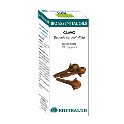 Bio Essential Oil Clavo - Equisalud - 10 ml.