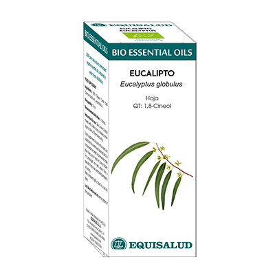 Bio Essential Oil Eucalipto - Equisalud - 10 ml.