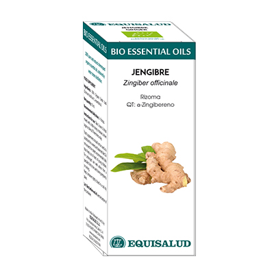 Bio Essential Oil Jengibre - Equisalud - 10 ml.